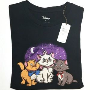Coach Disney Aristocats Women's T-Shirt sz Medium